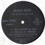 "JUSTIFY MY LOVE (THE JUSTIFIED RE-MIX) - USA 12"" VINYL"